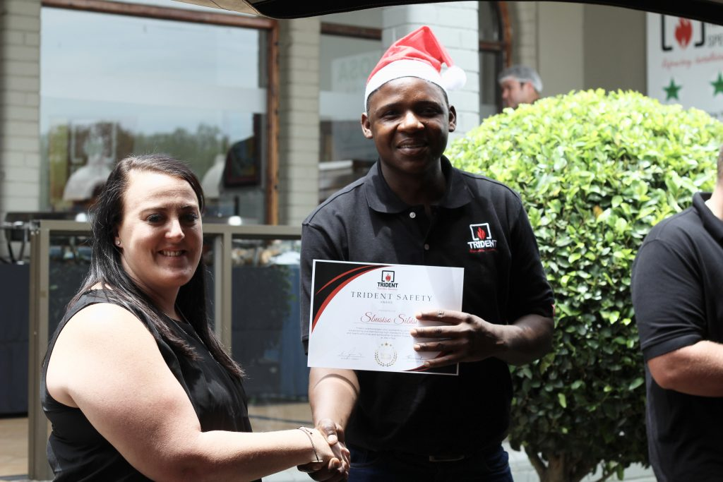 Sbusiso Sibisi- Safety Award